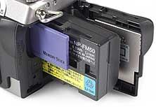 Sony DSC-F707 - Speicherplatz [Foto: MediaNord]