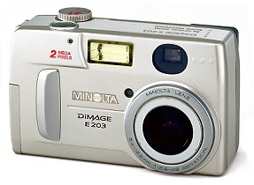 Minolta Dimage E203 [Foto: Minolta]