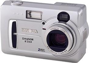 Minolta Dimage E223 [Foto: Minolta]