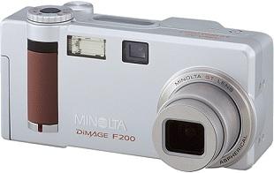 Minolta Dimage F200 [Foto: Minolta]