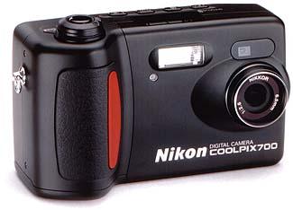 Nikon Coolpix 700 Frontansicht