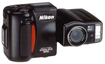 Nikon Coolpix 950 Frontansicht
