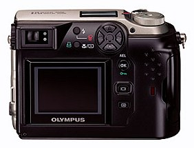 Olympus C-2040 Zoom Rückansicht [Foto: Olympus]