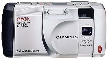 Olympus C-830L Frontansicht