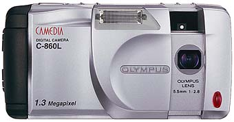 Olympus C-860L front view [Photo: Olympus]
