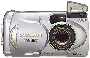 Olympus C-960 Zoom Frontansicht [Foto: Olympus]