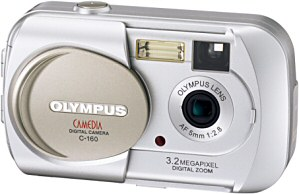 Olympus C-160 [Foto: Olympus Europa]