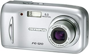 Olympus FE-120 [Foto: Olympus Europa]