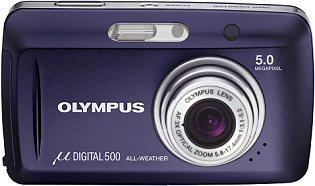 Olympus Mju Digital 500 Frontansicht [Foto: Olympus]