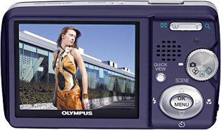Olympus Mju Digital 500 Rückansicht [Foto: Olympus]