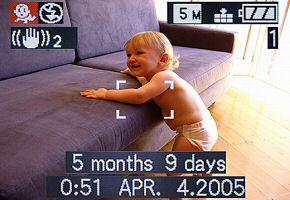 Panasonic Lumix DMC-FX8 Babymodus [Foto: Panasonic]