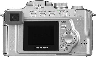 Panasonic Lumix DMC-FZ4/FZ5 Rückansicht [Foto: Panasonic]