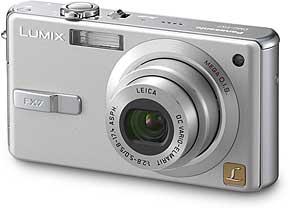 Panasonic Lumix DMC-FX7 [Foto: Panasonic]