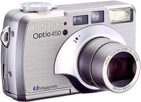Pentax Optio 450 [Foto: Pentax]