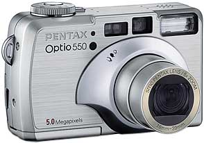 Pentax Optio 550 [Foto: Pentax]
