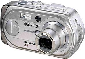 Samsung Digimax A6 [Foto: Samsung Camera Deutschland]