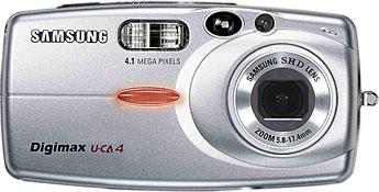 Samsung Digimax U-CA4 [Foto: Samsung Camera Deutschland]