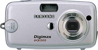 Samsung Digimax U-CA505 [Foto: Samsung Camera Deutschland]