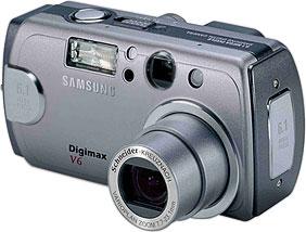 Samsung Digimax V6 [Foto: Samsung Camera Deutschland]