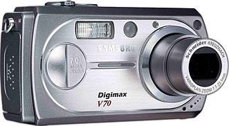 Samsung Digimax V70 [Foto: Samsung Camera Deutschland]