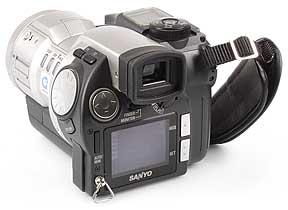 Sanyo IDC-1000Z Rückseite [Foto: MediaNord]