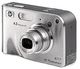 Hewlett-Packard Photosmart R717 [Foto: Hewlett-Packard]