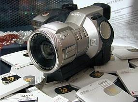 Sanyo iD-Photo-Digitalkamera IDC-1000Z [Foto: Sanyo]