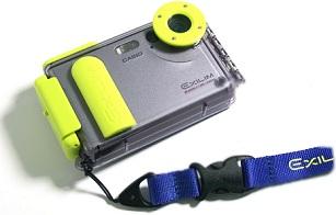 Unterwassergehäuse Casio Waterproof Case EWC-1 [Foto: Casio]