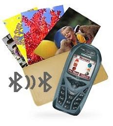 Bildbestellung per Bluetooth-Handy [Fotomontage: MediaNord]