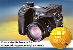 DIWA-Award für Konica Minolta Dimage A2 [Foto: DIWA]