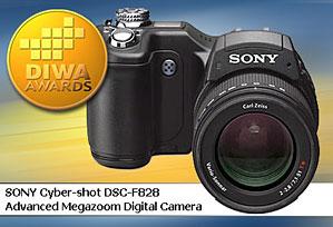 DIWA-Award für Sony DSC-F828 [Foto: DIWA]