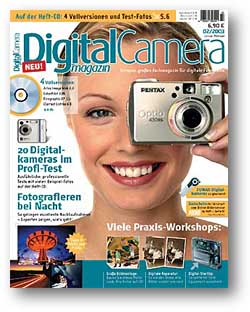 Titelbild des Digital Camera Magazins