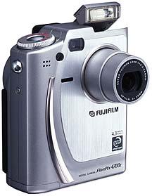 Fujifilm FinePix 4700 Zoom Frontansicht [Foto: Fujifilm]