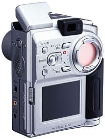 Fujifilm FinePix 4700 Zoom Rückansicht [Foto: Fujifilm]