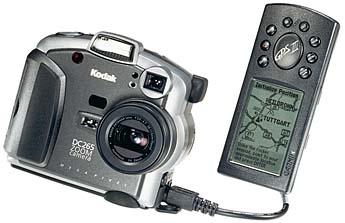 Kodak DC265 und GPS-Kit