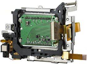 Konica Minolta Dynax 7D - Anti-Shake-Einheit [Foto: Konica Minolta]