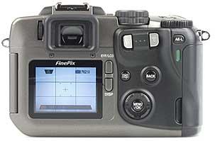 Fujifilm FinePix S602 Zoom, Rückseite [Foto: MediaNord]