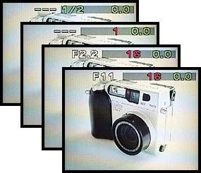 Olympus C-2000 Zoom Bildschirmfotos