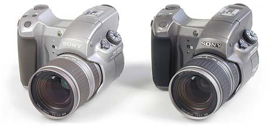 Sony DSC-D700 und 770 (Foto: MediaNord)