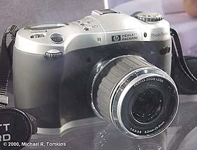 Hewlett Packard PhotoSmart C912 auf der PMA [Foto: Michael R. Tomkins]