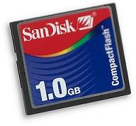 SanDisk CompactFlash-Karte [Foto: SanDisk]