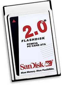 SanDisk PC-Card [Foto: SanDisk]