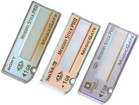 Sony Memory Stick PRO [Foto: Sony]