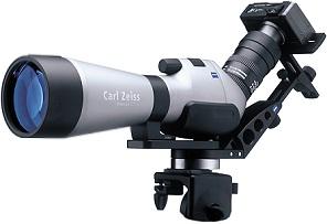 Zeiss quick camera adapter verbindet spektive und digitalkameras