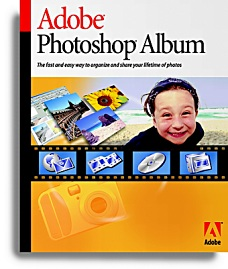 Adobe Photoshop Album [Packshot: Adobe]