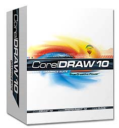 Corel Draw 10 [Packshot: Corel Corporation]