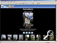 ACDSee 6.0 Deluxe - HTML-Album [Screenshot: MediaNord]
