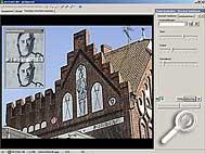 ACDSee 6.0 Deluxe - schärfen [Screenshot: MediaNord]