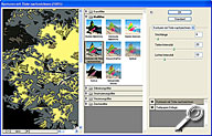 Adobe Photoshop CS - Filtergalerie [Screenshot: MediaNord]