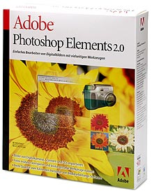 Adobe Photoshop Elements 2.0 [Packshot: MediaNord]